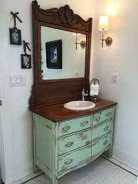 bathroom vanity antique rustic from
