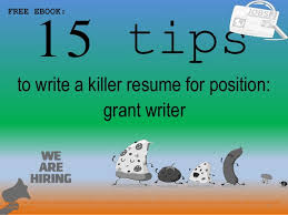 Grant Writer Resume Beauteous Grant Writer Resume Sample Pdf Ebook