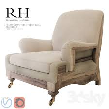 english roll arm chair. Unique English Restoration Hardware Deconstructed English Roll Arm Chair On S