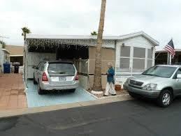 Small Picture Park model mobile homes another great way to live cheaply