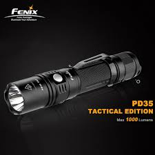 Fenix Lights Us 72 31 Rifle Light Fenix Pd35 Tac Tactical Edition 1000 Lumens Led Hunting Flashlight With 2 Year Warranty In Led Flashlights From Lights