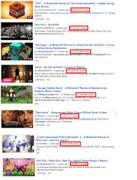 Watch and listento funny song parodies music videos here. Some Of The Minecraft Parody Songs Have Surpassed The Originals In Views On Yt Minecraft