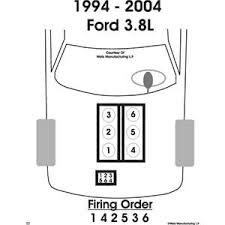 solved 94 mustang 3 8 v6 need wiring diagram for spark fixya 4 wire trailer wiring diagram troubleshooting at 4 Plug Wiring Diagram