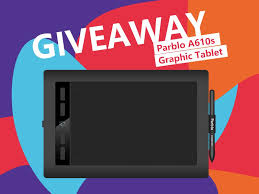gizmochina along with parblo official is conducting 1 unit parblo a610s graphic tablet as giveaway gift to a lucky reader like always you just have to