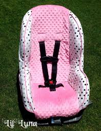 elegant girly car seat covers best of infant toddler car seat cover tutorial how
