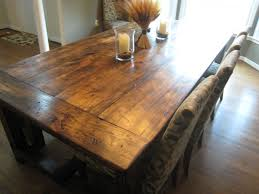Rustic Wood Kitchen Tables Rustic Kitchen Table Industrial Rustic Kitchen Dining Breakfast