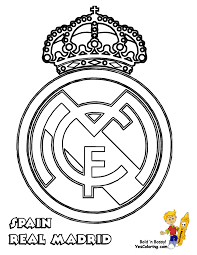 Small Picture Real Madrid Soccer Coloring Pages Get Coloring Pages