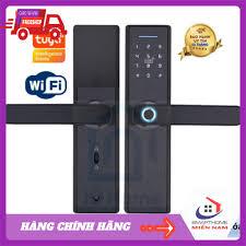Khoá cửa thông minh Tuya kết nối Wifi GIÁ TỐT mở khóa bằng Vân tay, mật mã,  thẻ từ, chìa cơ và app smartlife, iohome giá cạnh tranh