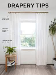 Curtain Rod Alternatives How To Hang Curtains Tips From Designer Andrew Pike Umbra