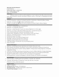 Sample Resume For Manual Testing] Manual Testing Resume Samples .
