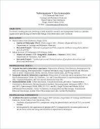 Intern Resume Examples Resume For Summer Internship Civil