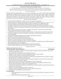 sample trucking resume transportation resume template resume sample transportation management resume
