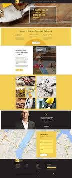 Construction Website Templates Construction Materials Company Website Template Construction 6
