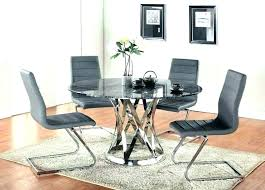 furniture exquisite modern round dining table set 24 contemporary room sets marvelous decorating ideas modern round