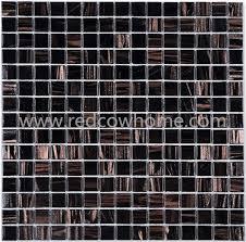 building materials hot melting golden dark color backlit glass tile