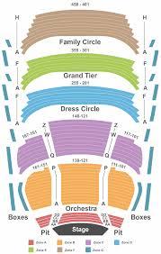 Oxnard Performing Arts Center Seating Chart Milwaukee Performing Arts Center Seating Chart San Mateo