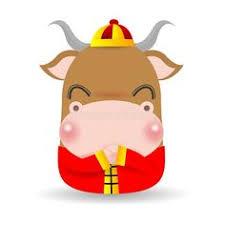 Lunar new year 475 gifs. Little Ox Happy Chinese New Year 2021 Year Of The Ox Zodiac Cartoon Vector Ill Sponsored Affiliate Happy Chinese New Year Cartoons Vector Buffalo Cartoon