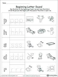 Teaching Letter Sounds Worksheets Free Teaching Letter Sounds ...