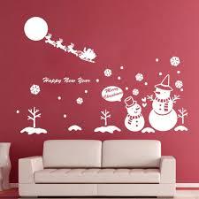Santa claus with snowflakes pretty wall mural merry christmas cute santa  claus with snowflakes pretty wall