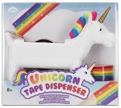 Set of 3 Rainbow <b>NPW Unicorn</b> Craft Tape Rolls Office Products ...