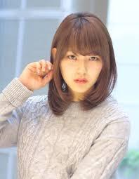 有村架純さん風小顔耳かけ髪型wa 390 ヘアカタログ髪型ヘア
