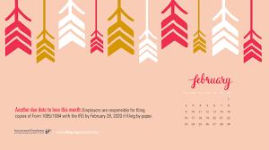 The year 2021 is finally here. February 2020 Calendar Desktop 5334x3000 Wallpaper Teahub Io