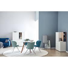Schöner Wohnen Stuhl Round Stoffbezug Türkis
