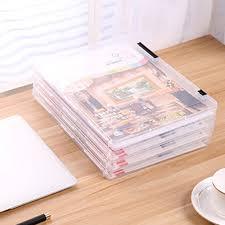 desk office file document paper. Transparent Storage Box Clear Plastic Document Paper Filling Case File PP Office Organizer Invisible Cases Desk C