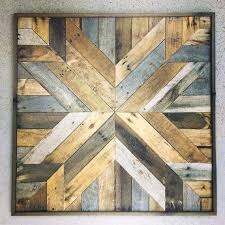 decoration 1 square reclaimed wood wall art diy faux