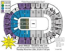 Family Arena Seating Chart Circus Brian Wilson