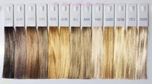 Hair Color Chart Numbers Colors Wella Illumina Unique