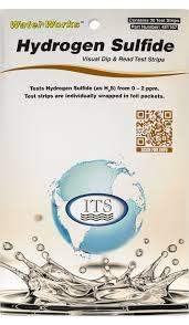 Waterworks Hydrogen Sulfide Foil Packets