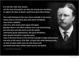 Teddy Roosevelt a classic Goals Achievement Quotes Pinterest New Teddy Roosevelt Quotes