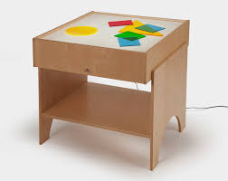 whitney brothers light table excellent