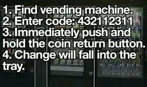 Vending Machine Code Hack New Vending Machine Code College Pinterest Vending Machine Codes