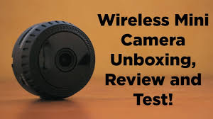 <b>Wireless Mini Camera</b> Unboxing, Review and Test! - YouTube