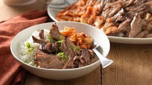 slow cooker korean barbecue pork
