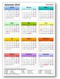 Excel Kalender Excel Kalender 2019 Download Chip