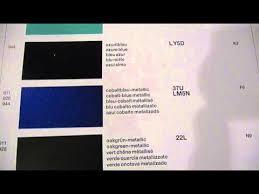 1991 Porsche Paint Color Codes Wet 602 715 91 Youtube