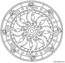 Mandala Dieren Kleurplaat 674733 Kleurplaat