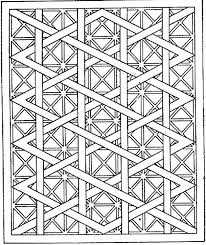 Small Picture Hard Geometric Coloring Pages Coloring Pages