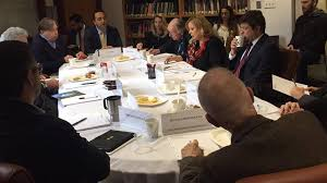 with tho support the belfer center at harvard university organized a roundtable discussion featuring prof dr gulnur aybet