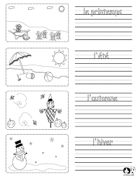 Spring Printouts French ~ French for Kids ~ www.chillola.com ...