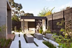 australian house garden feature