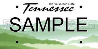 look up license plates in tennessee for