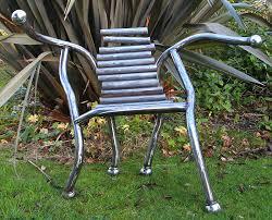modern metal furniture. Boule Chair - Modern Metal Furniture
