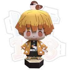 SIÊU RẺ] Mô hình giấy Anime Chibi Zenitsu Agatsuma - Demon Slayer (Kimetsu  no Yaiba) + kit mô hình hộp, Giá siêu rẻ 26,000đ! Mua liền tay! - SaleZone  Store