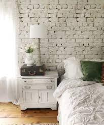 Whitewash Bricks Wallpaper, White ...