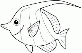 Small Picture Angelfish coloring page Free Printable Coloring Pages