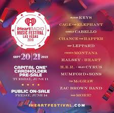 Iheartradio Music Festival At T Mobile Arena On 20 Sep 2019